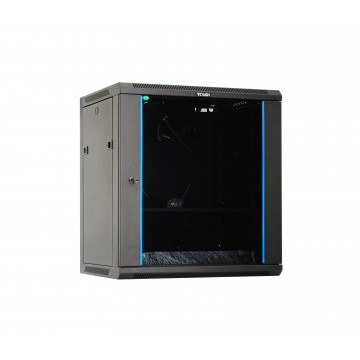 Tough CX Series 12U Wall Mount Cabinet with Glass Door