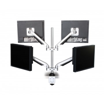 TOUGH Hydronic 4 Side-by-Side LCD Monitor Arm