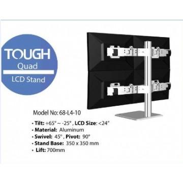 Tough Quad LCD Stand